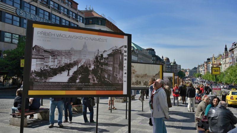 Výstava Příběh Václavského náměstí