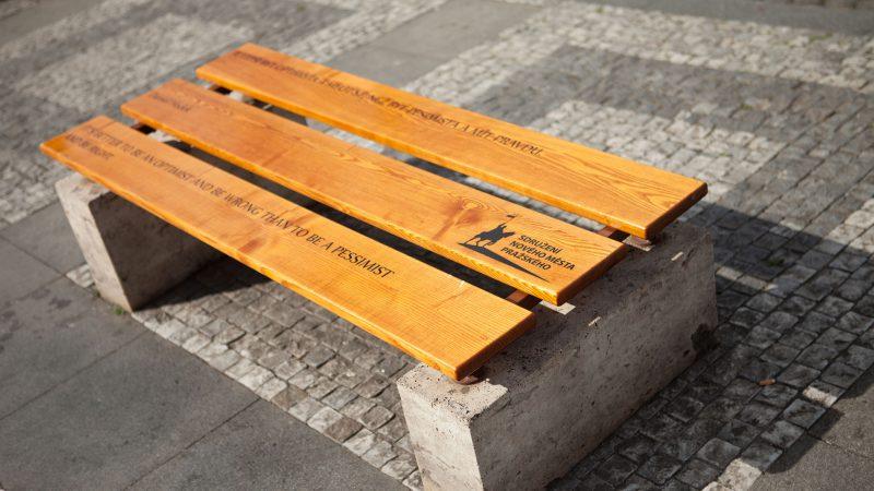 Projekt obnova laviček na Václavském náměstí
